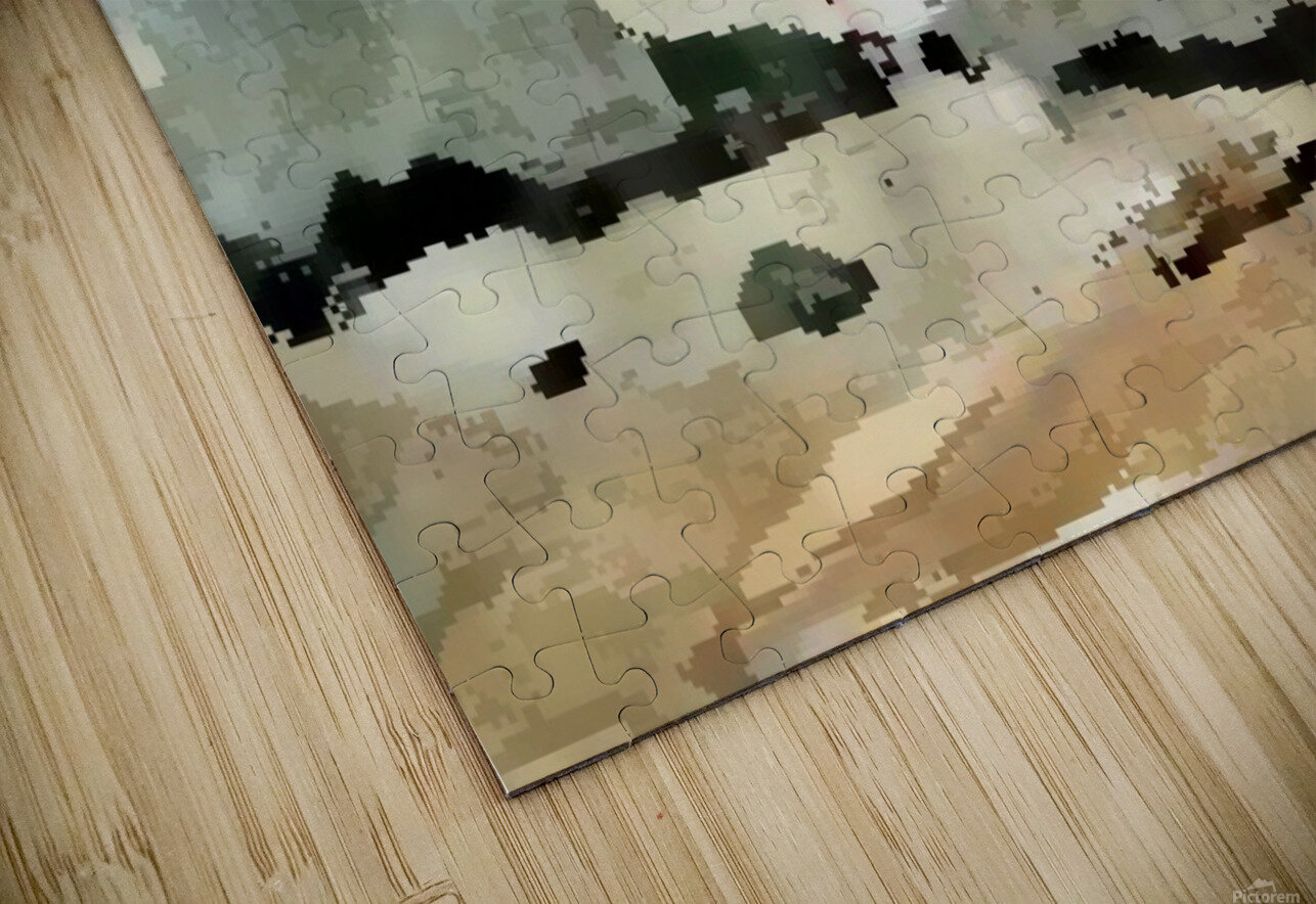 Tree sand water HD Sublimation Metal print