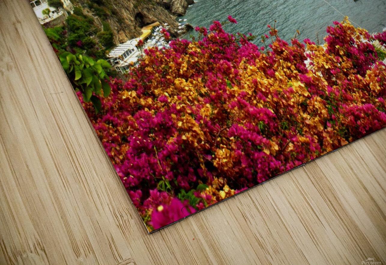 Amalfi Coast landscape  HD Sublimation Metal print