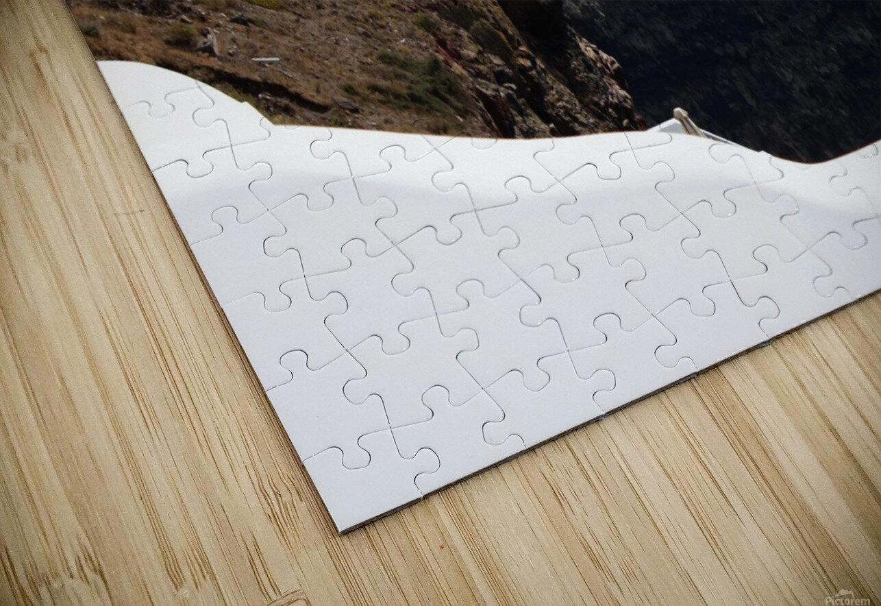Skaros Rock - Santorini HD Sublimation Metal print