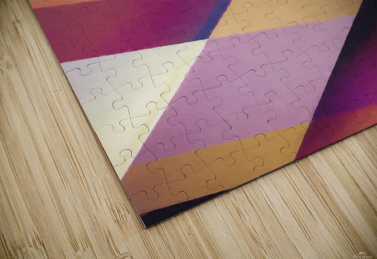 Composition des Pyramides HD Sublimation Metal print
