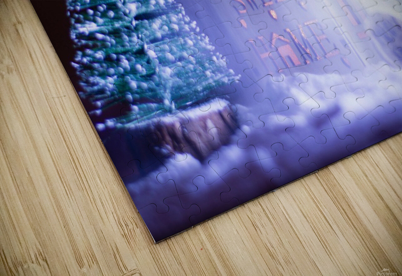 Christmas is coming HD Sublimation Metal print