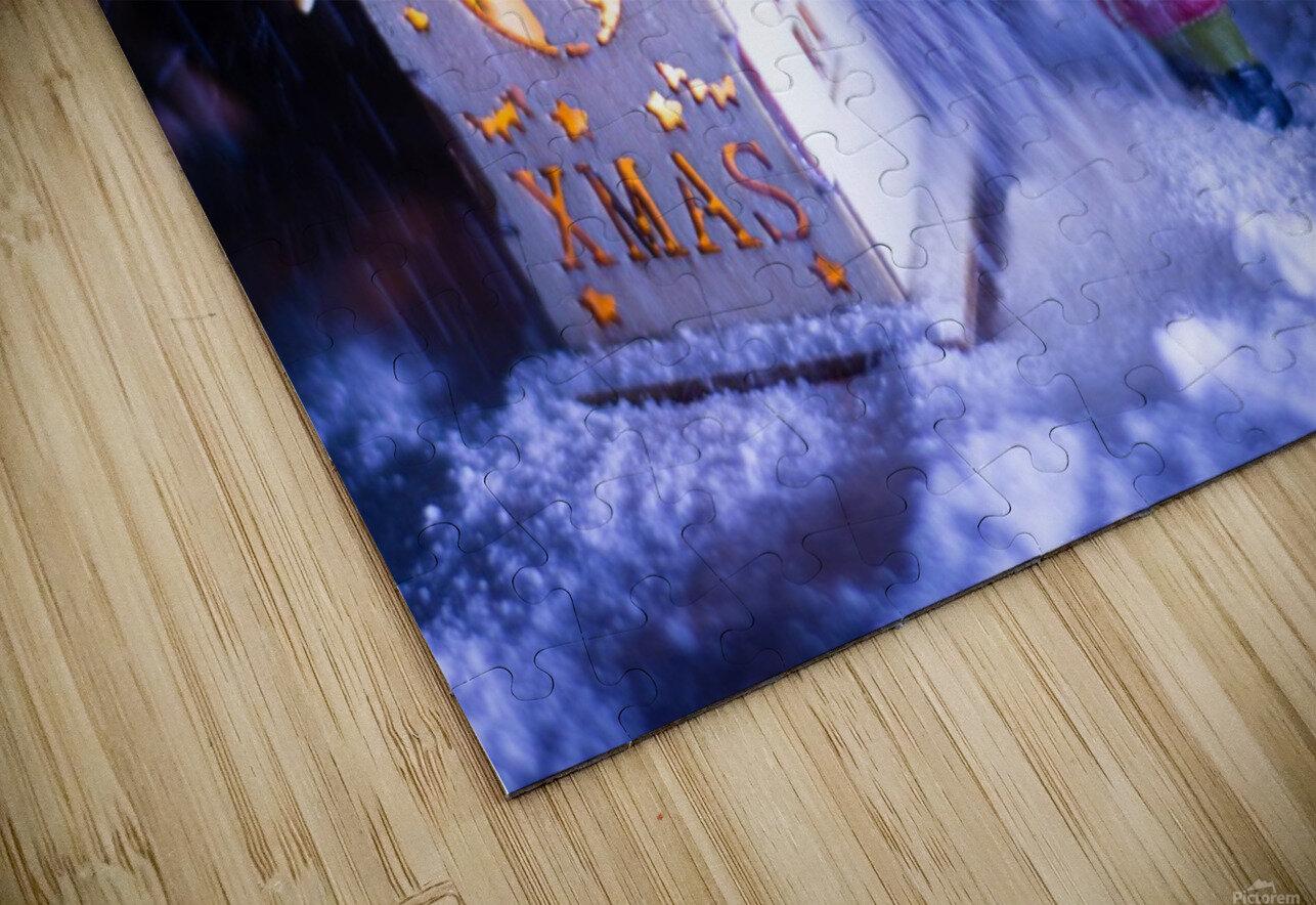 Christmas is coming HD Sublimation Metal print