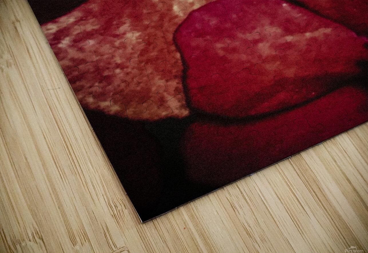 Red Impression de sublimation métal HD