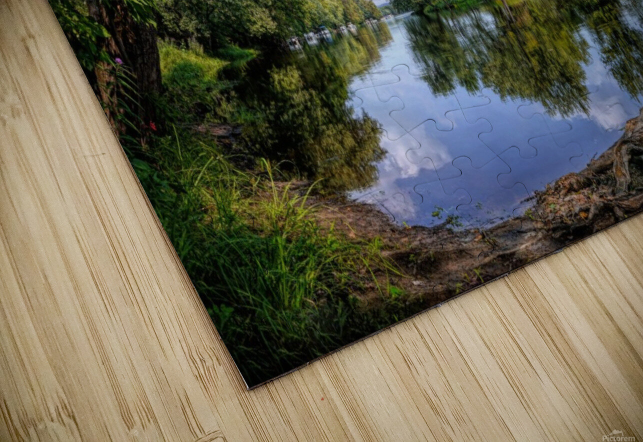 Calming Waters HD Sublimation Metal print