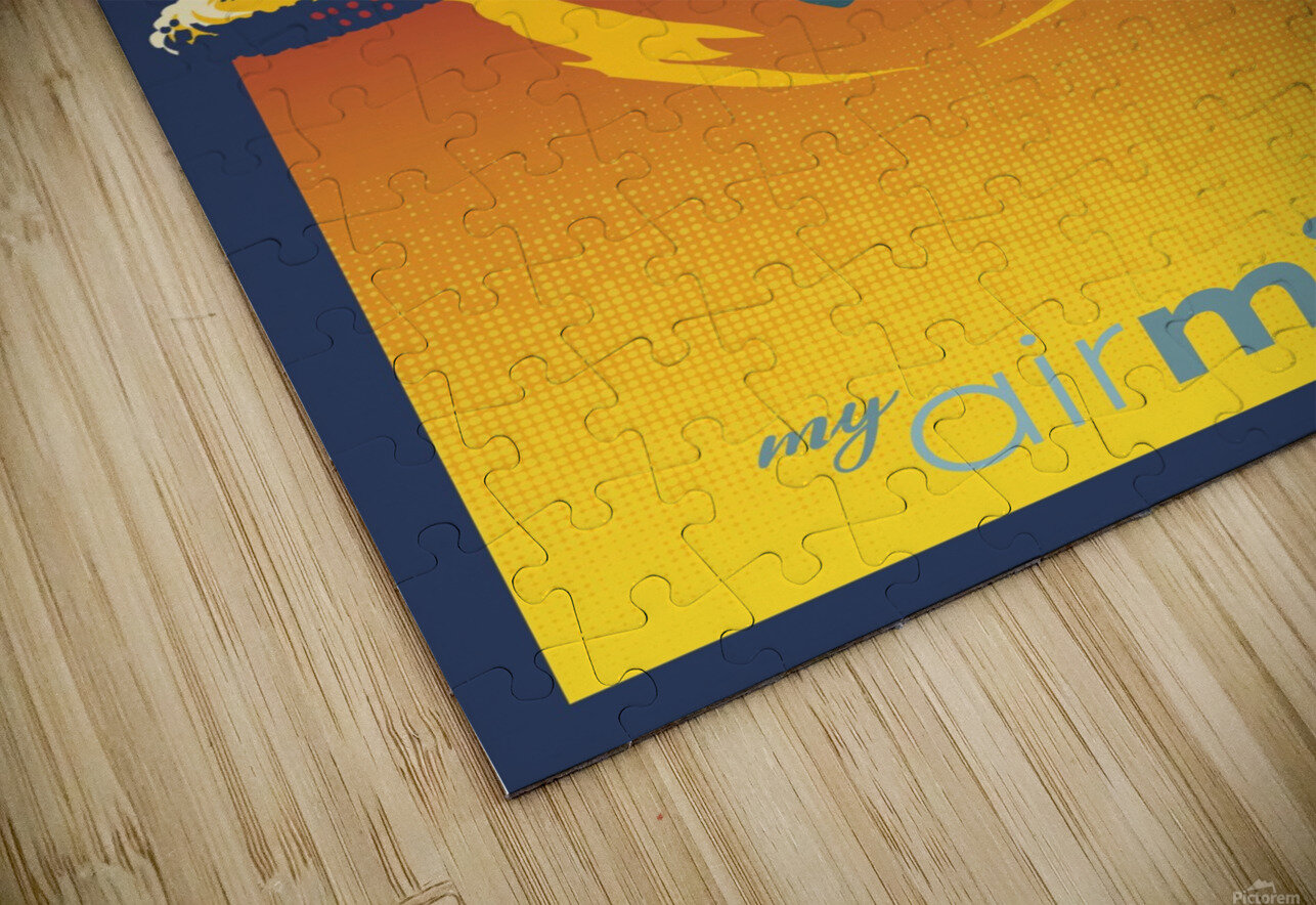 my air miles HD Sublimation Metal print