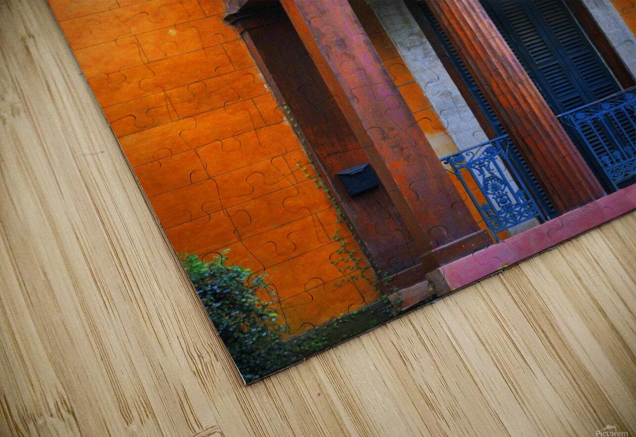 Savannah Porch HD Sublimation Metal print