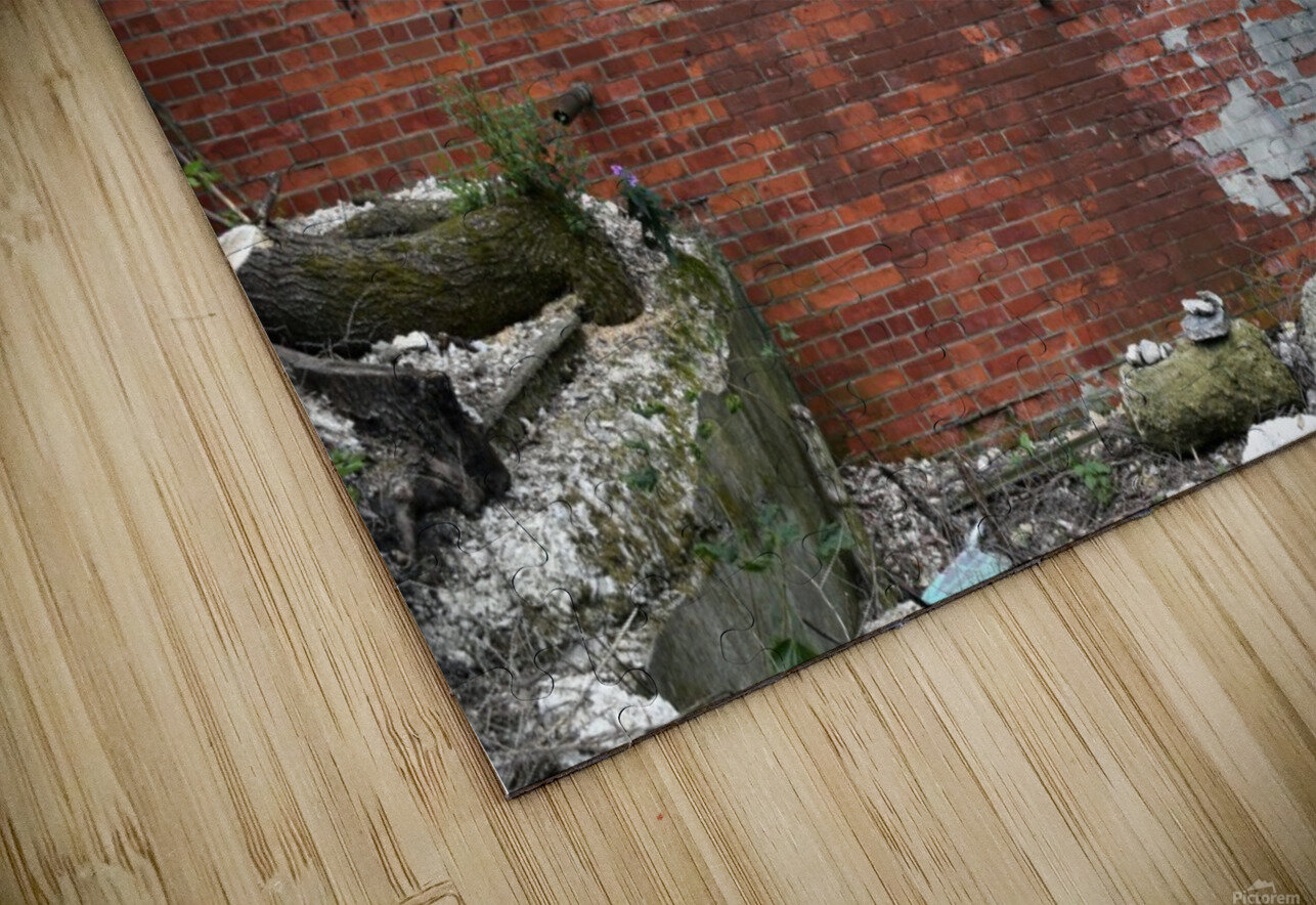 Another Brick in the Wall HD Sublimation Metal print