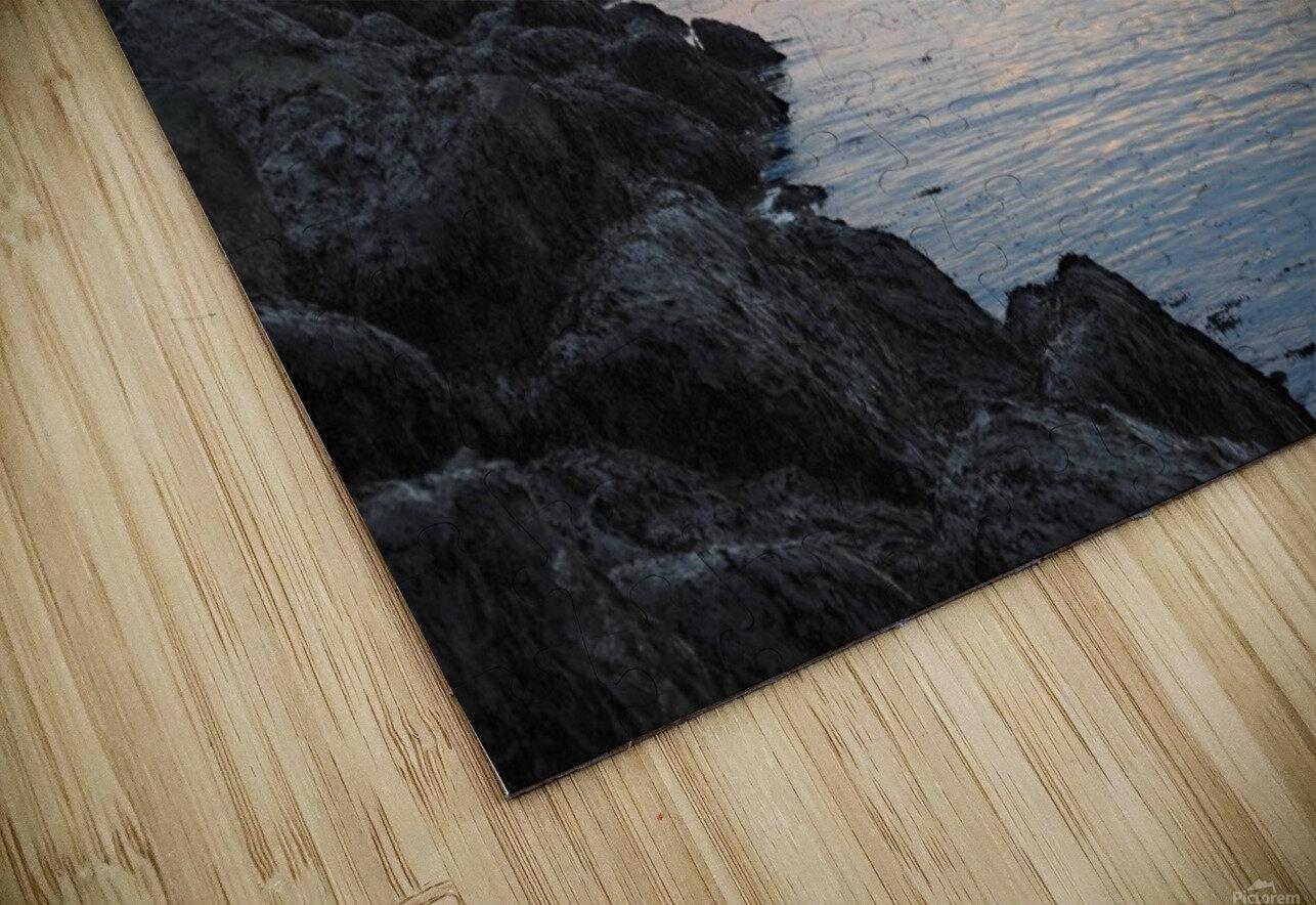 Sunrise Bay HD Sublimation Metal print
