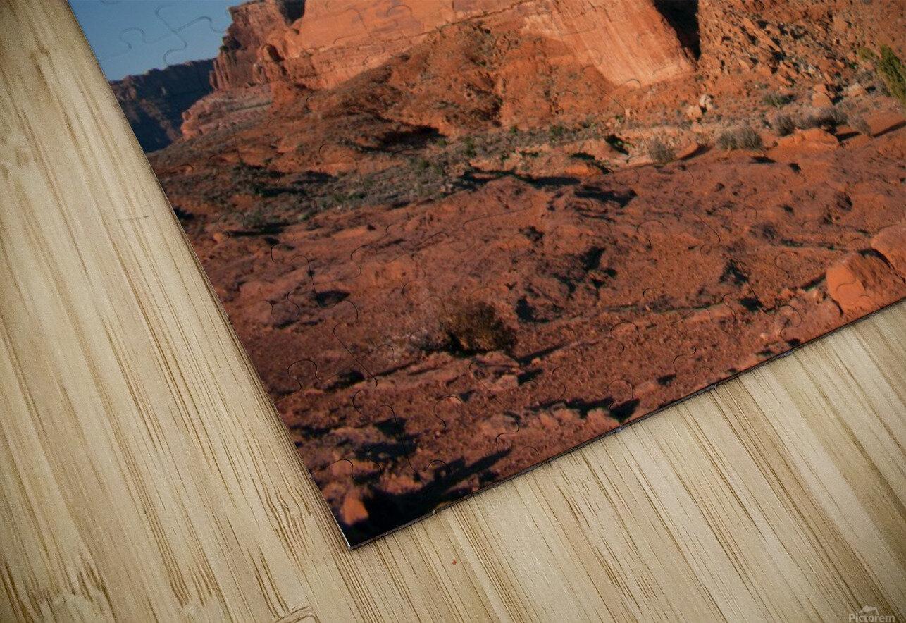 Desert Scape HD Sublimation Metal print