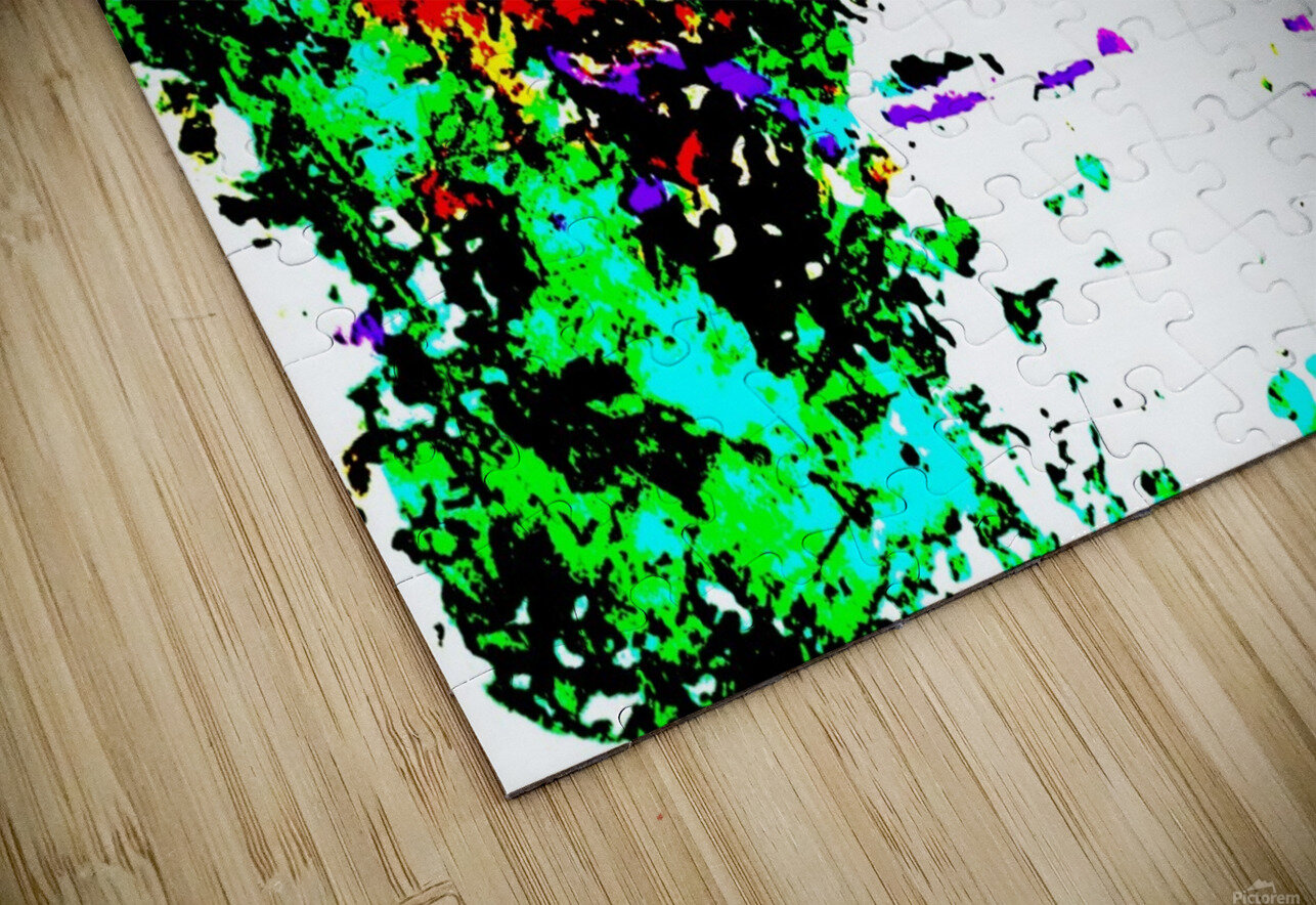 ROCHER 2 - Inverted Colours HD Sublimation Metal print