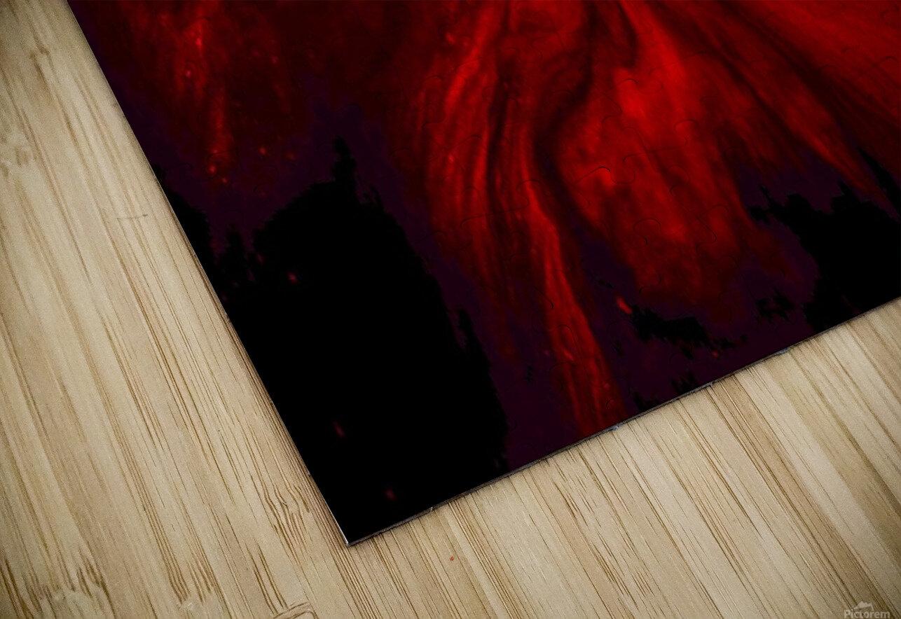 Red Fire  Impression de sublimation métal HD