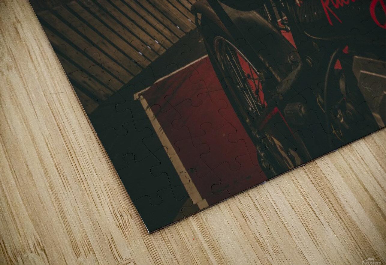 Wall of death Harley Davidson HD Sublimation Metal print