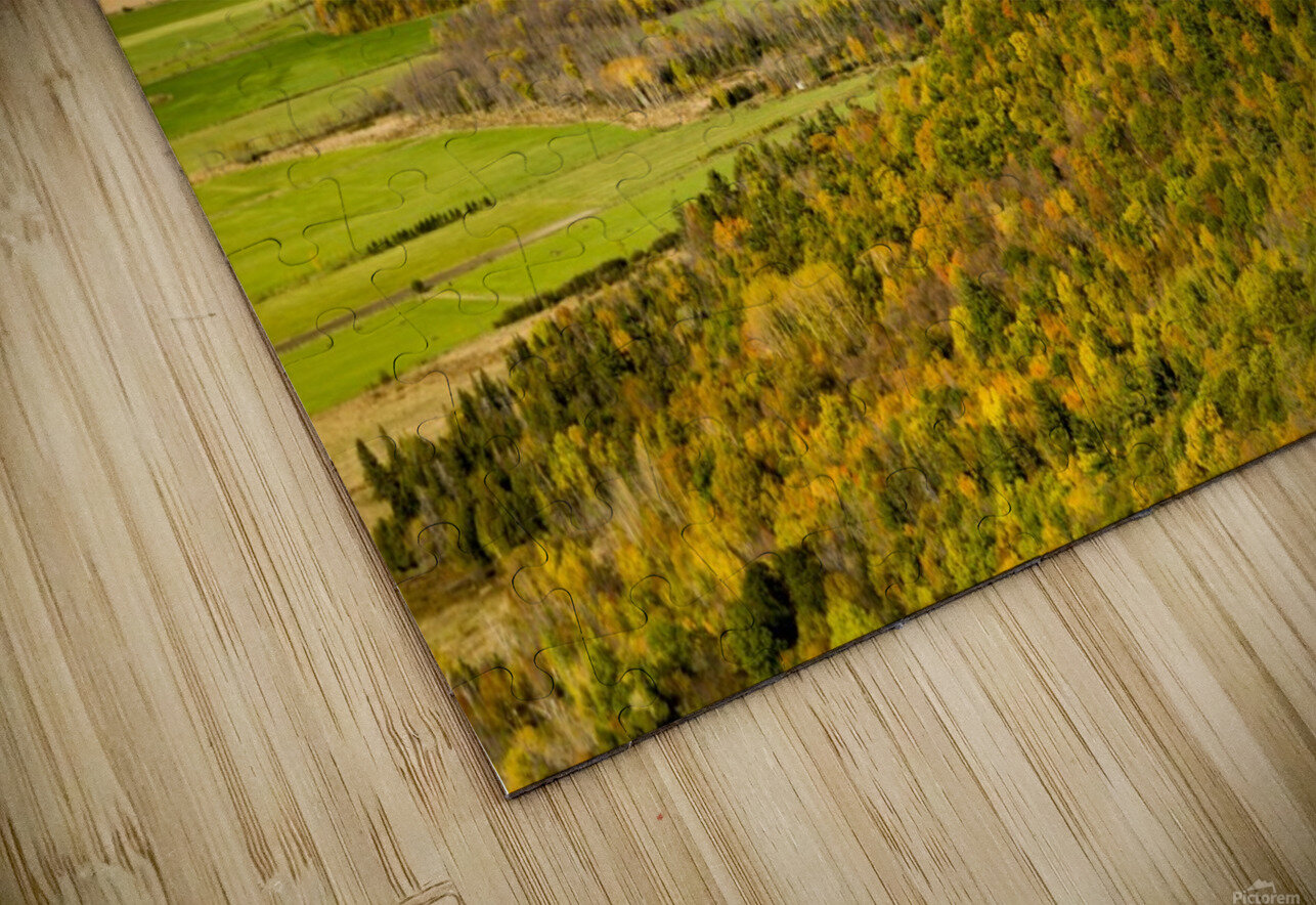 View of Ottawa Valley in Autumn 20 HD Sublimation Metal print