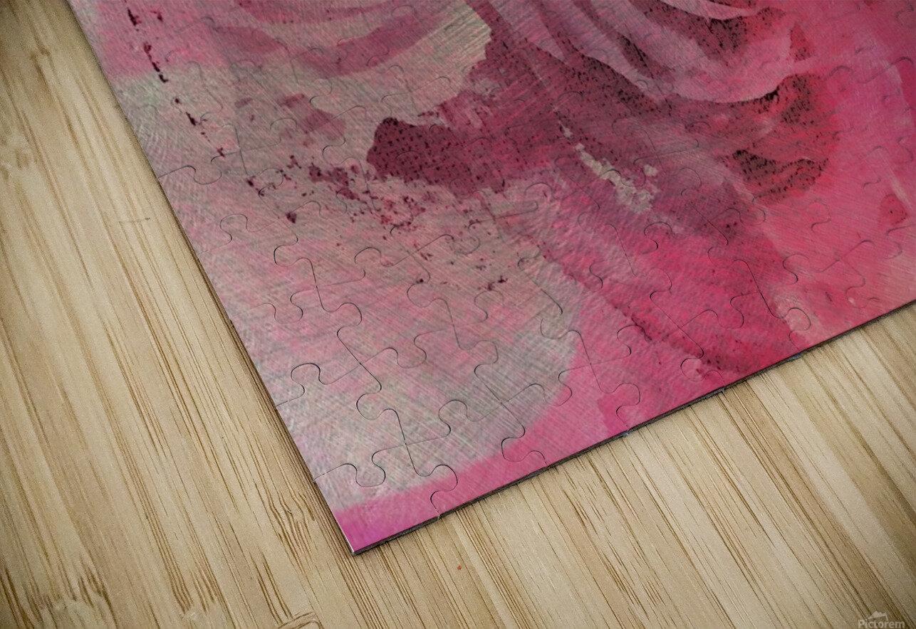 June Rose HD Sublimation Metal print