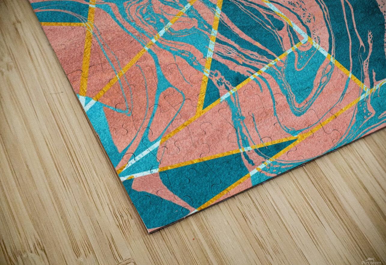 Geometric XXXXIII HD Sublimation Metal print