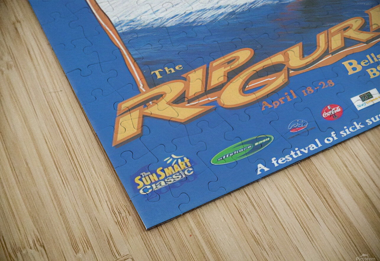 2000 RIP CURL PRO BELLS BEACH EASTER Surfing Championship Competition Print - Surfing Poster HD Sublimation Metal print