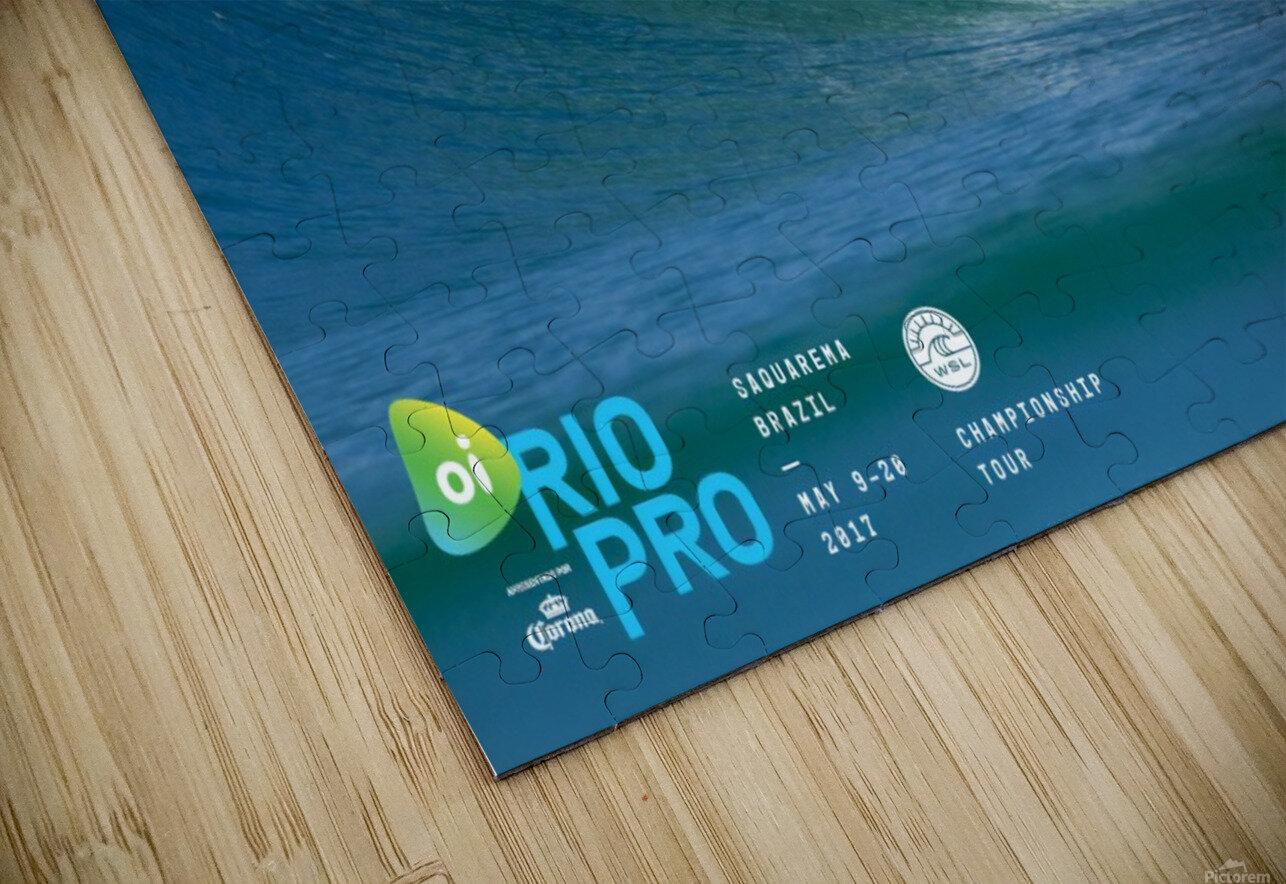 2017 RIO PRO Surf Competition Print HD Sublimation Metal print