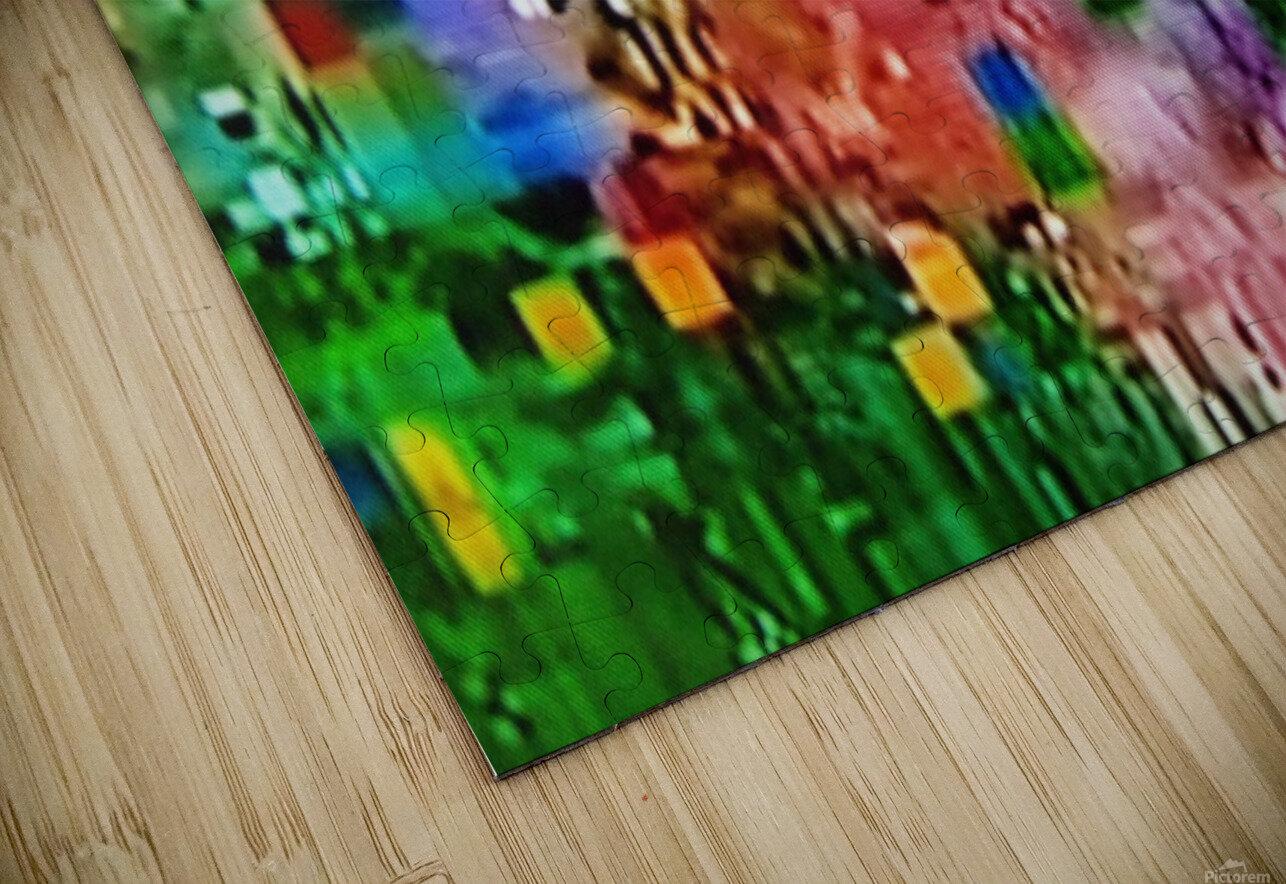 Alien Landscape HD Sublimation Metal print