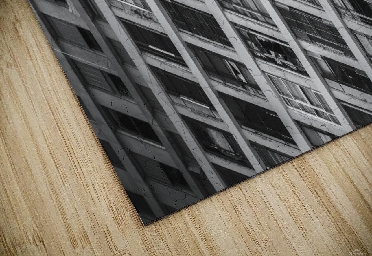 Sao Paulo Downtown HD Sublimation Metal print