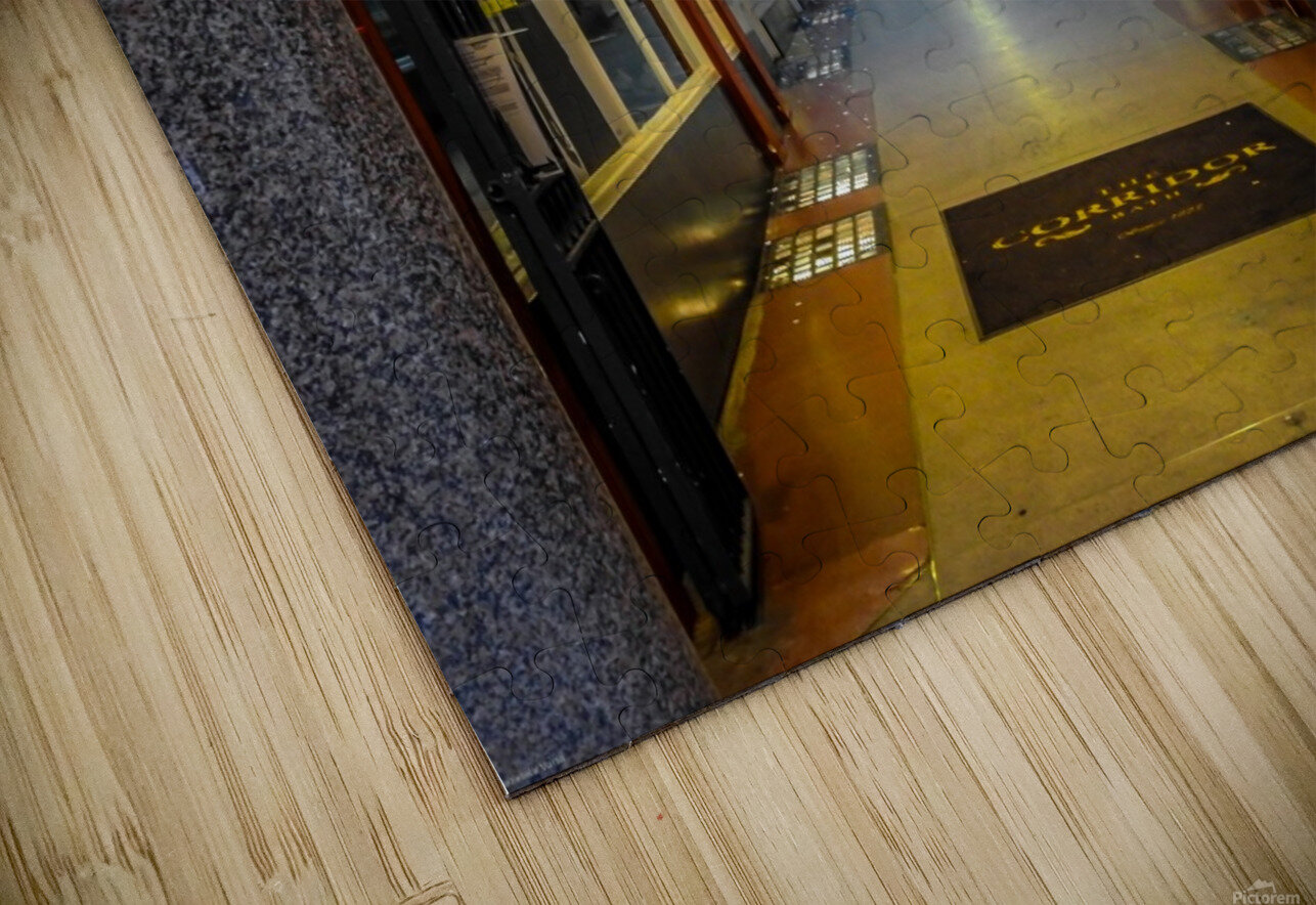 Hallway HD Sublimation Metal print