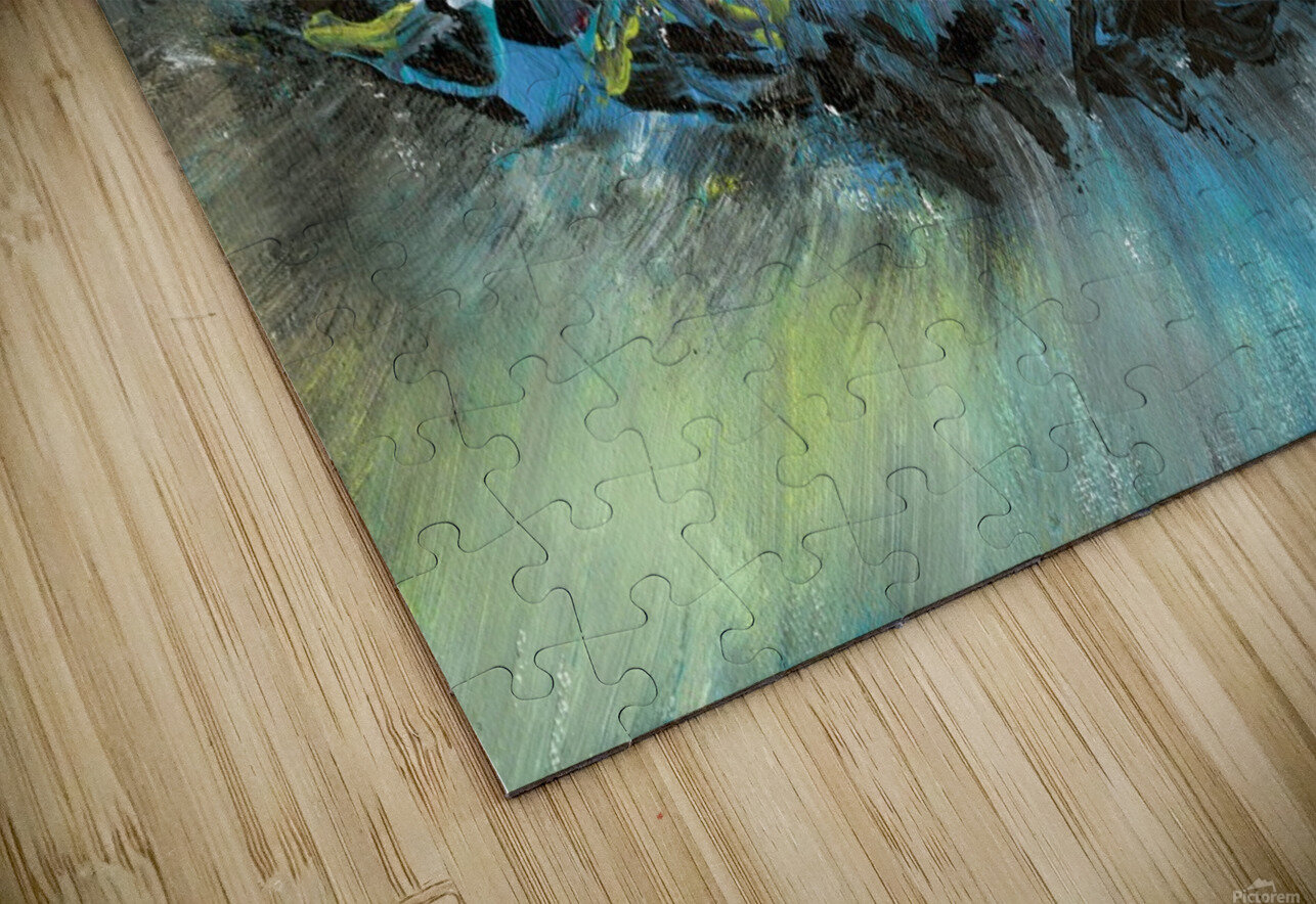 Abstract HD Sublimation Metal print