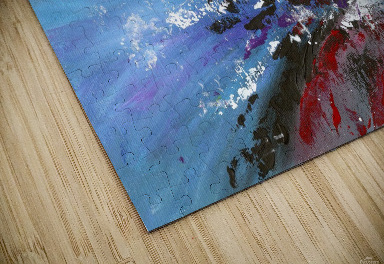 Abstract 165 HD Sublimation Metal print