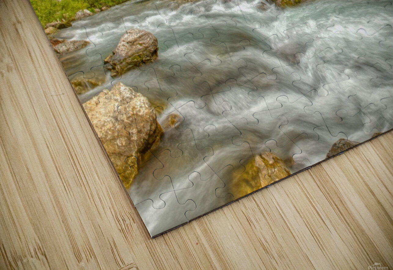 Periodic Spring Flowing into Swift Creek HD Sublimation Metal print
