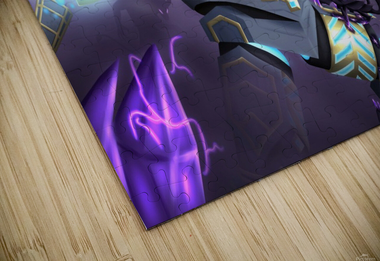 -Power Suit Fall- HD Sublimation Metal print