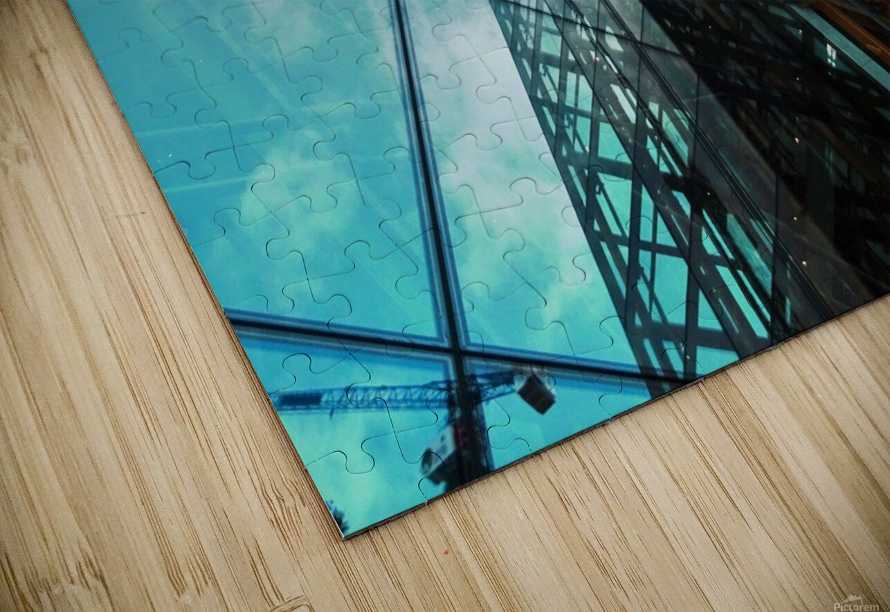 architectural design architecture building business HD Sublimation Metal print