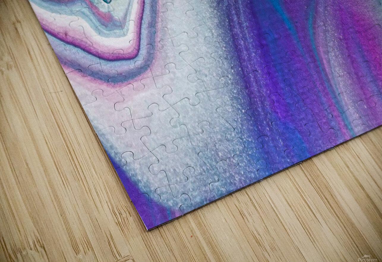 color acrylic paint art painting HD Sublimation Metal print