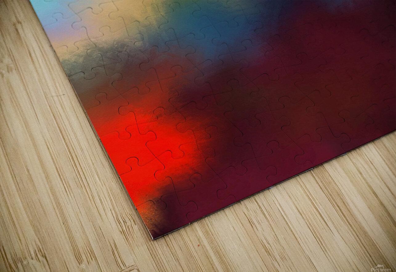 Color Burst - Breathe HD Sublimation Metal print