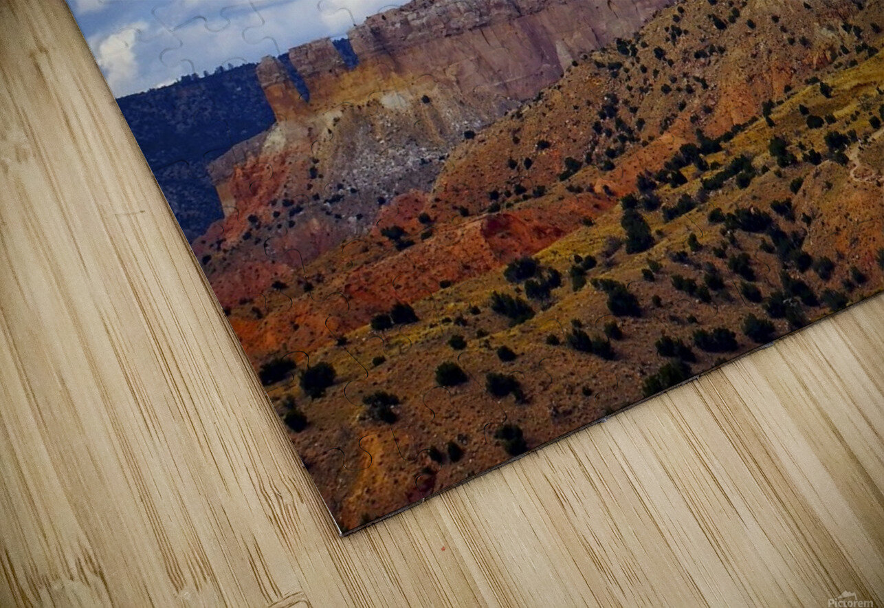 Chimney Rock Ghost Ranch NM  HD Sublimation Metal print