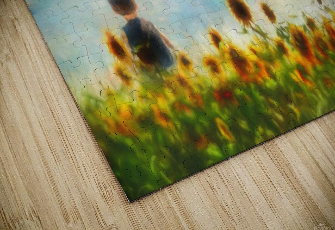 The lake HD Sublimation Metal print