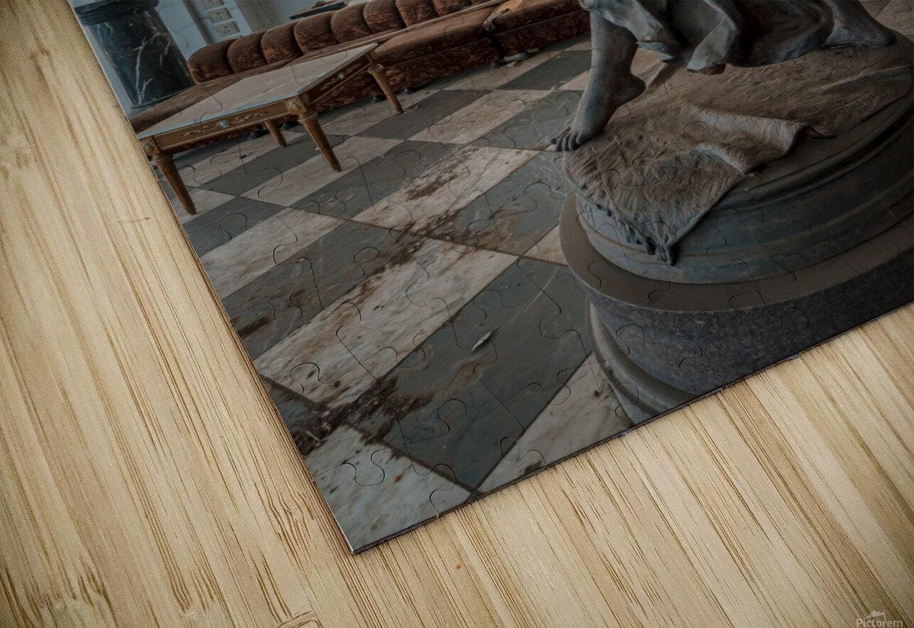 Abandoned Billionaires Mansion HD Sublimation Metal print