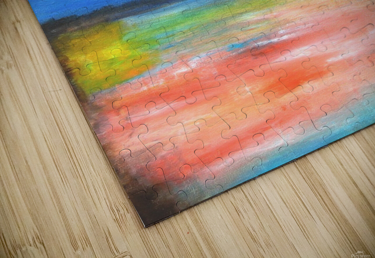 Colors of a Quiet Day HD Sublimation Metal print
