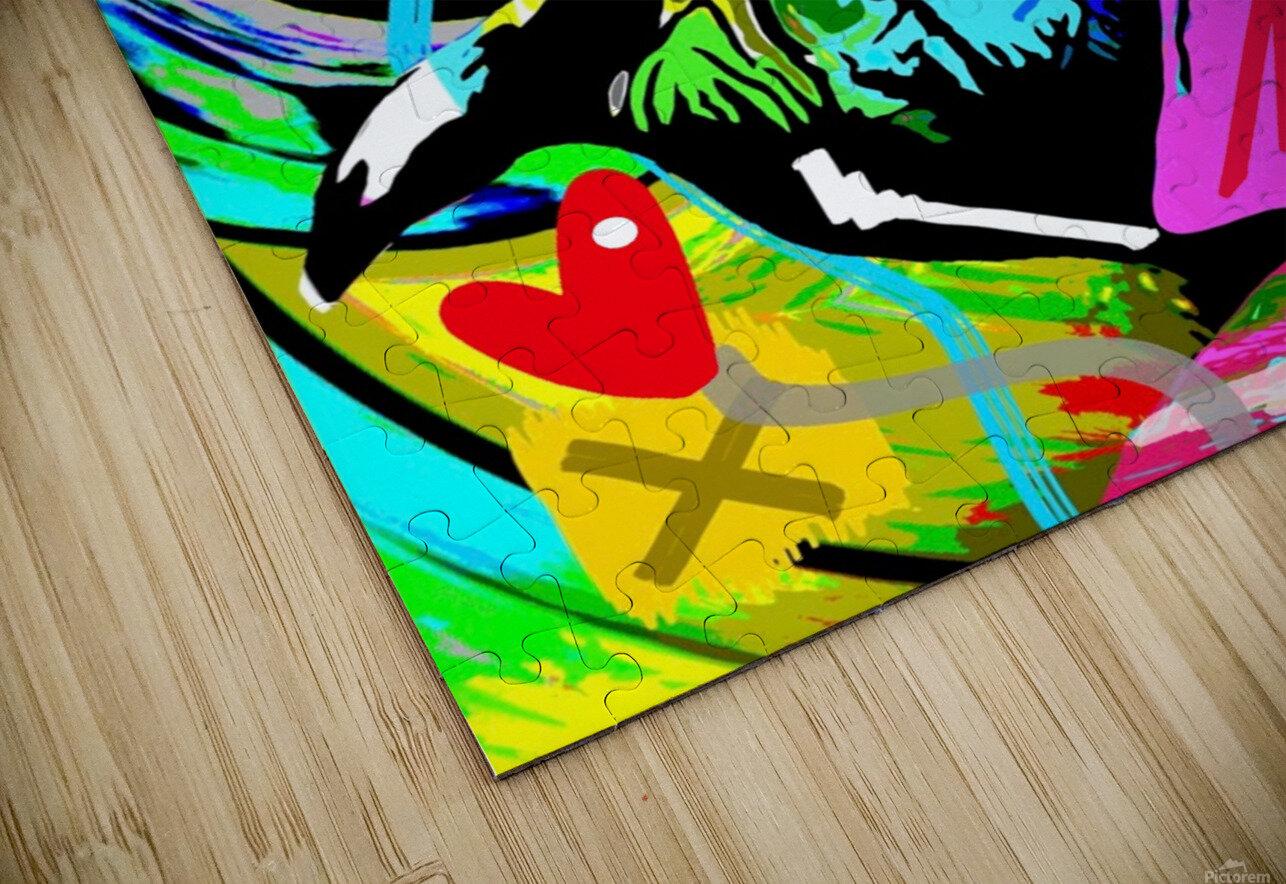 Color Elephant HD Sublimation Metal print