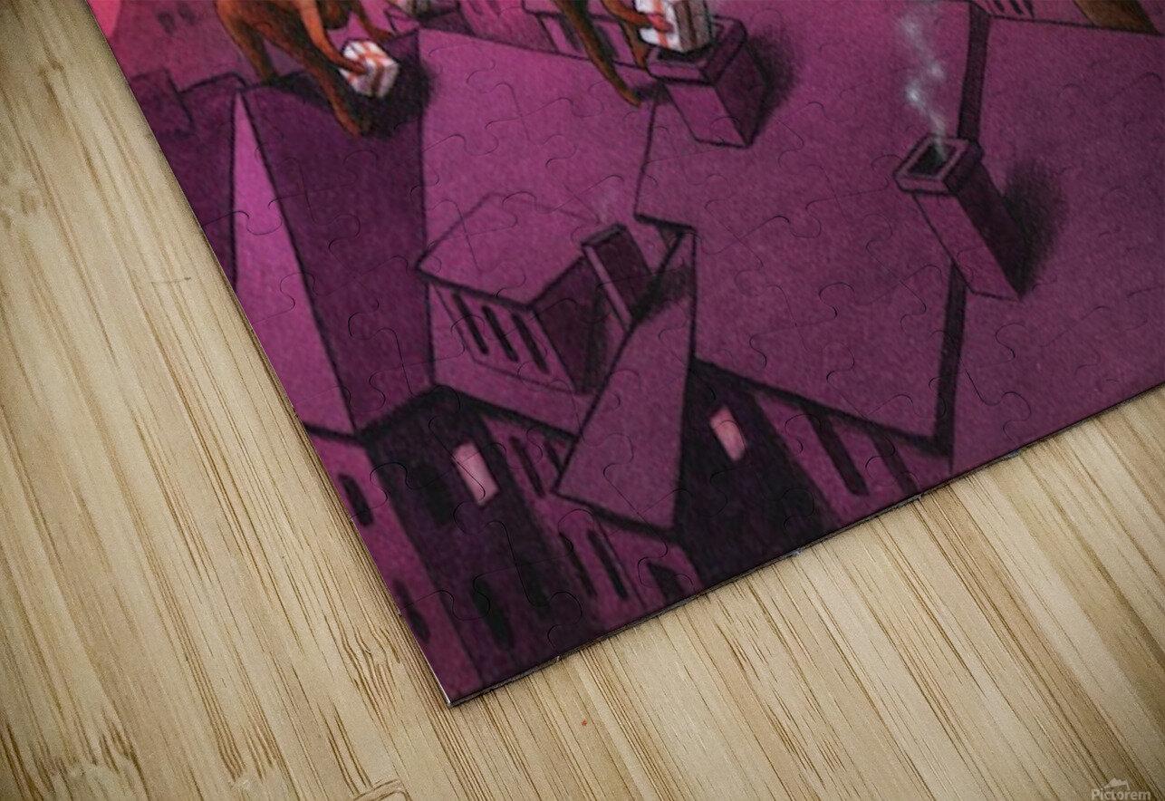 Christmas HD Sublimation Metal print