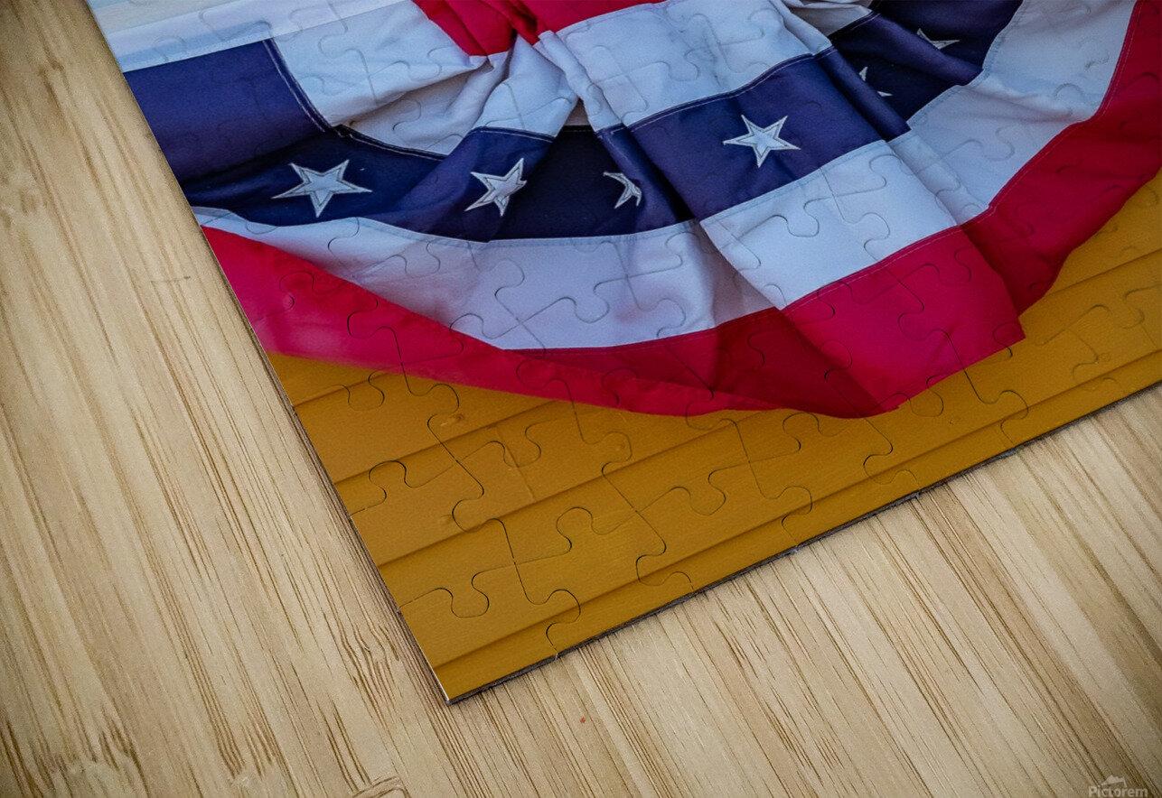 Patriotic Colonial HD Sublimation Metal print