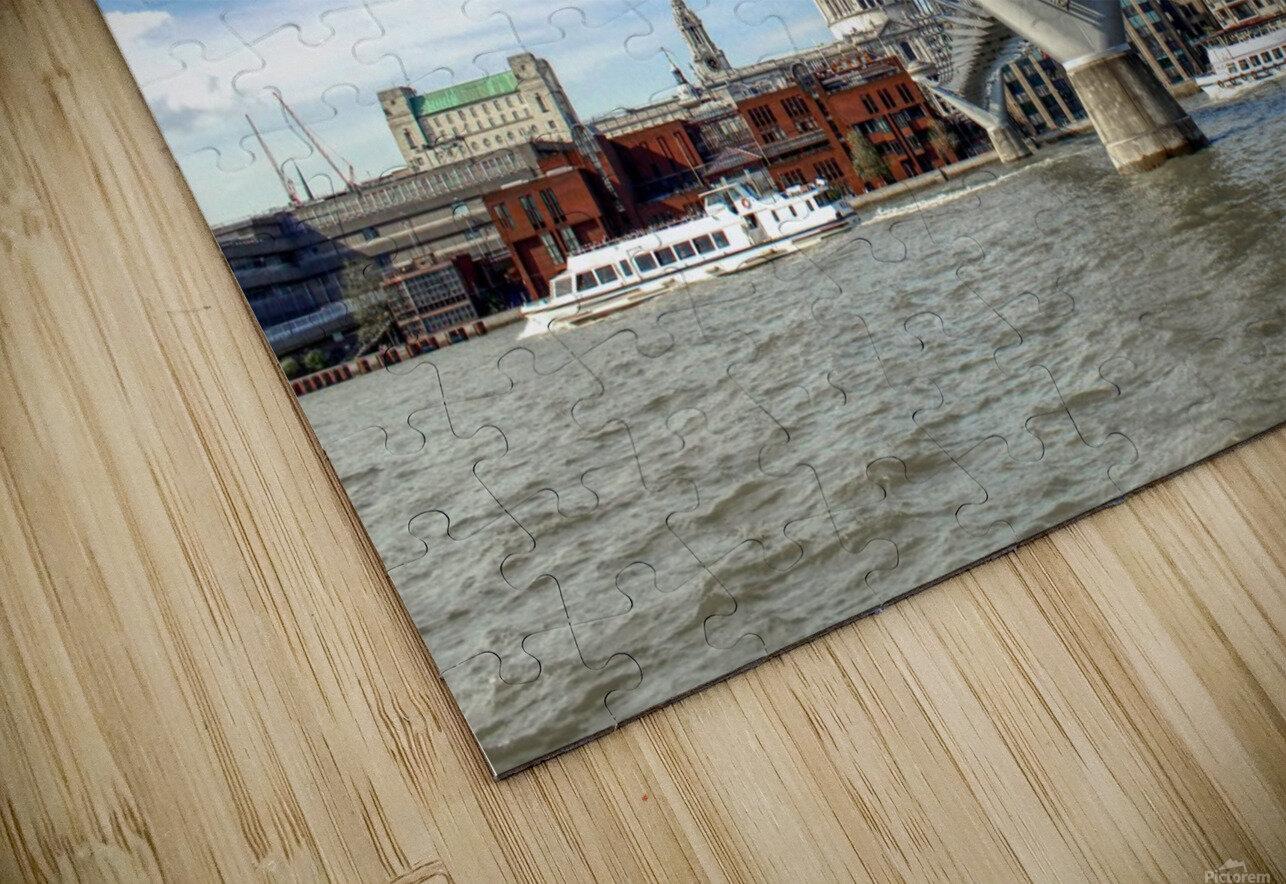 Landscape - London skyline - St Pauls Cathedral HD Sublimation Metal print