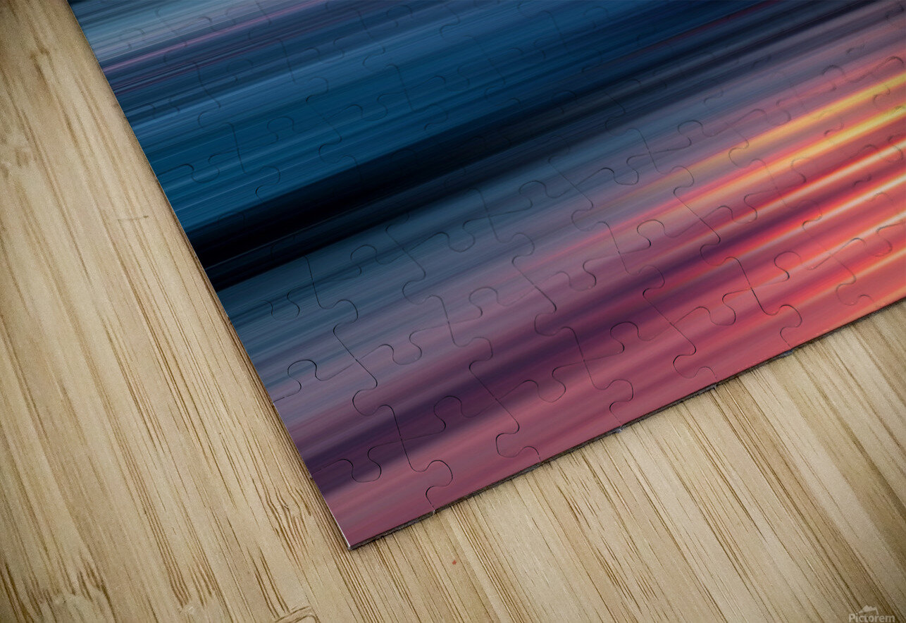 Abstract Sunset XII HD Sublimation Metal print