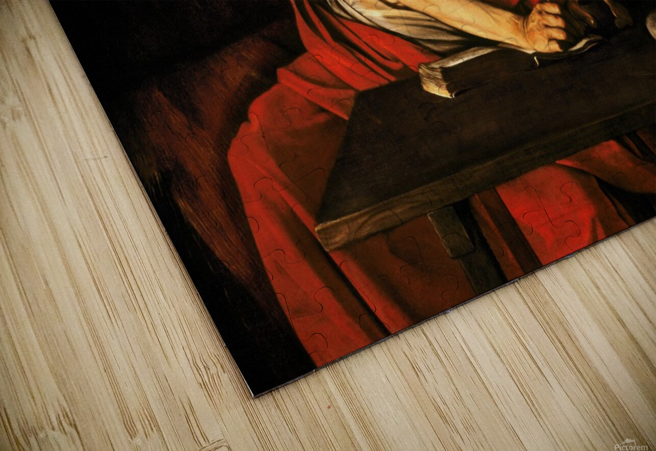 Saint Jerome writing HD Sublimation Metal print
