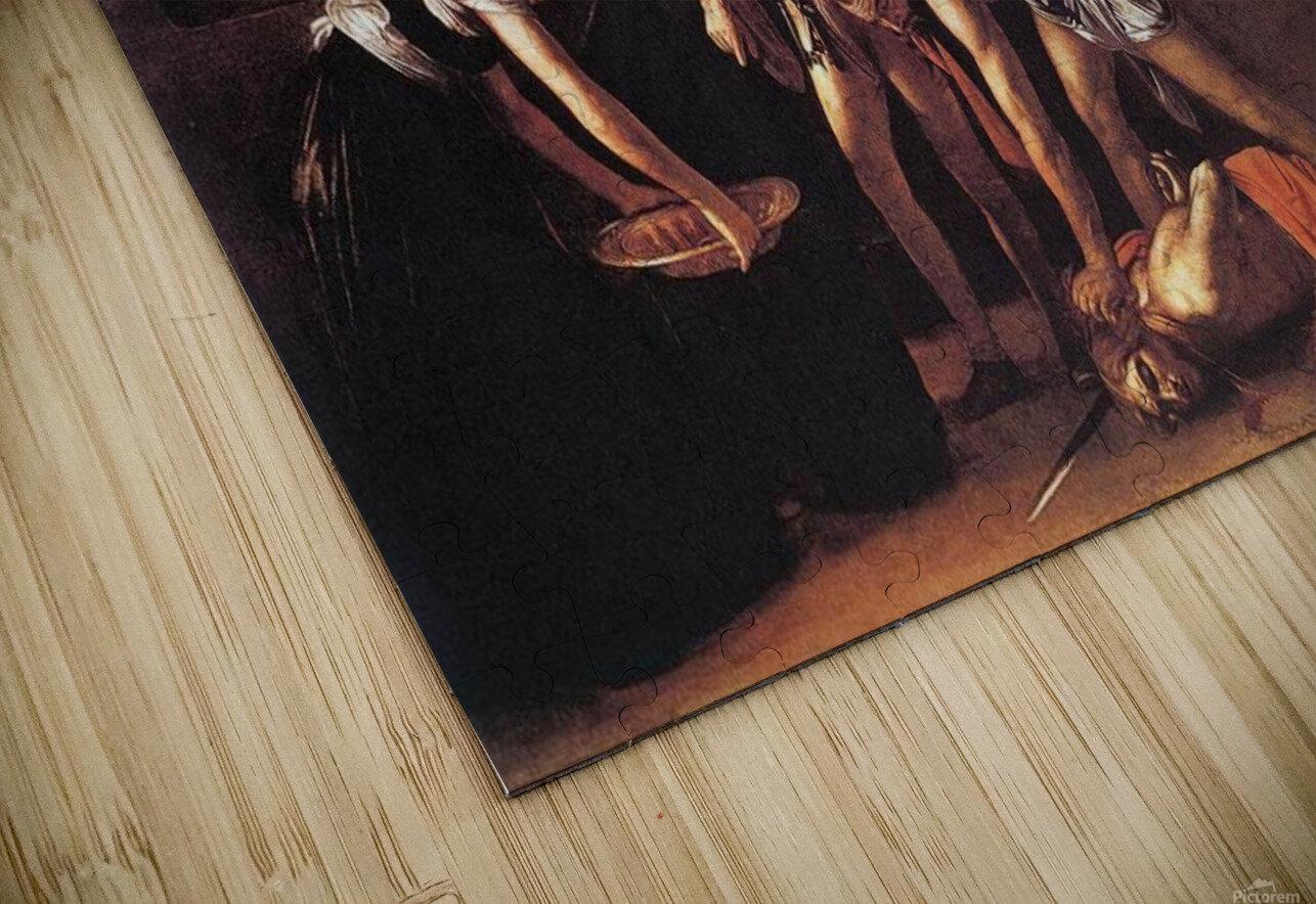 Beheading of Saint John the Baptist HD Sublimation Metal print