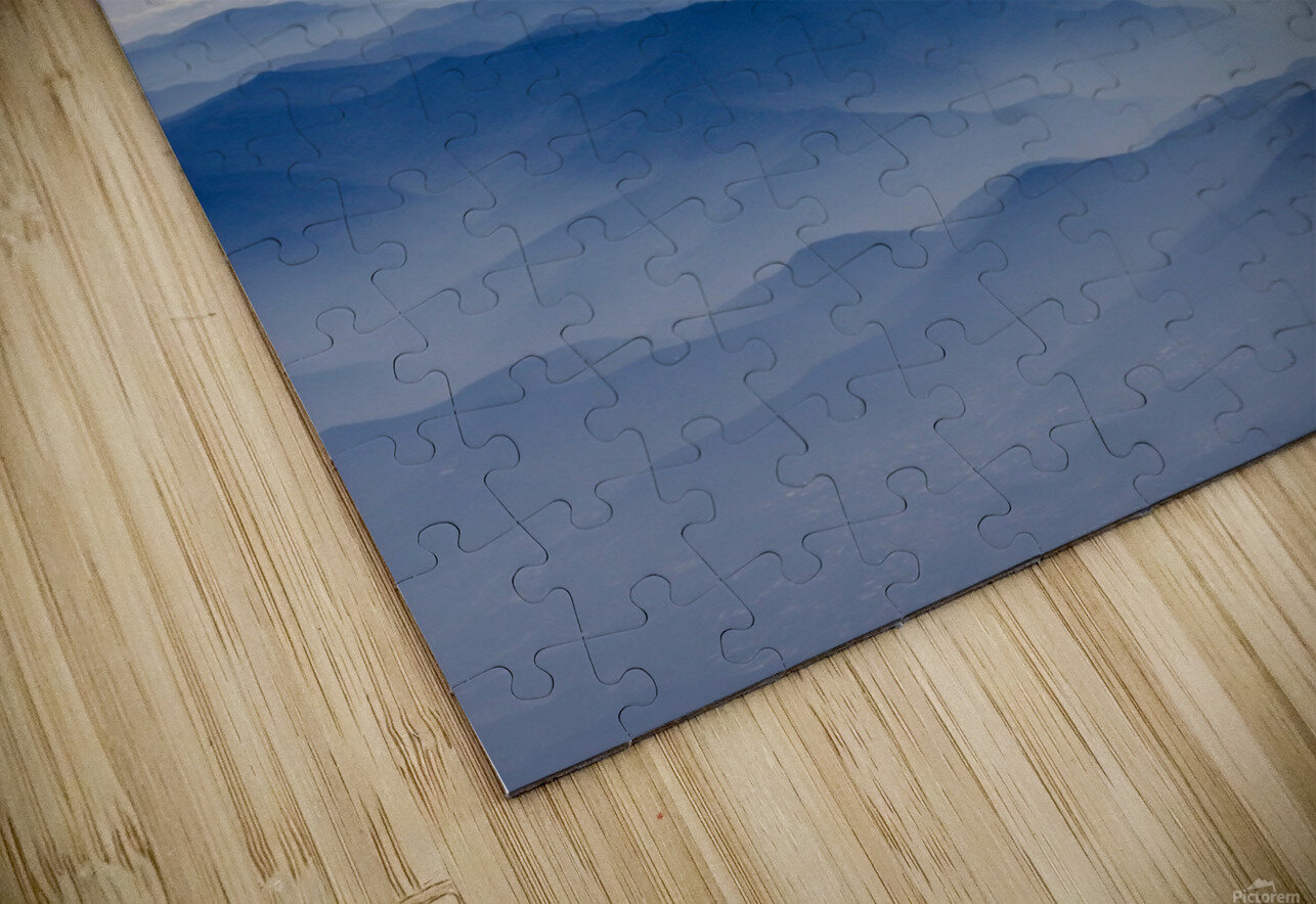 Japanese Mountains HD Sublimation Metal print