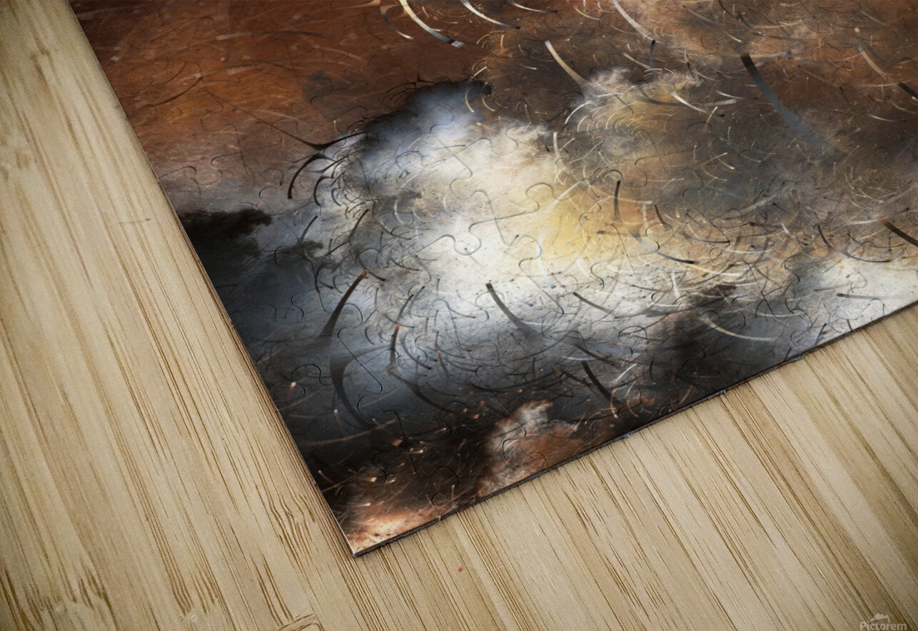Dark Skies of the Soul HD Sublimation Metal print