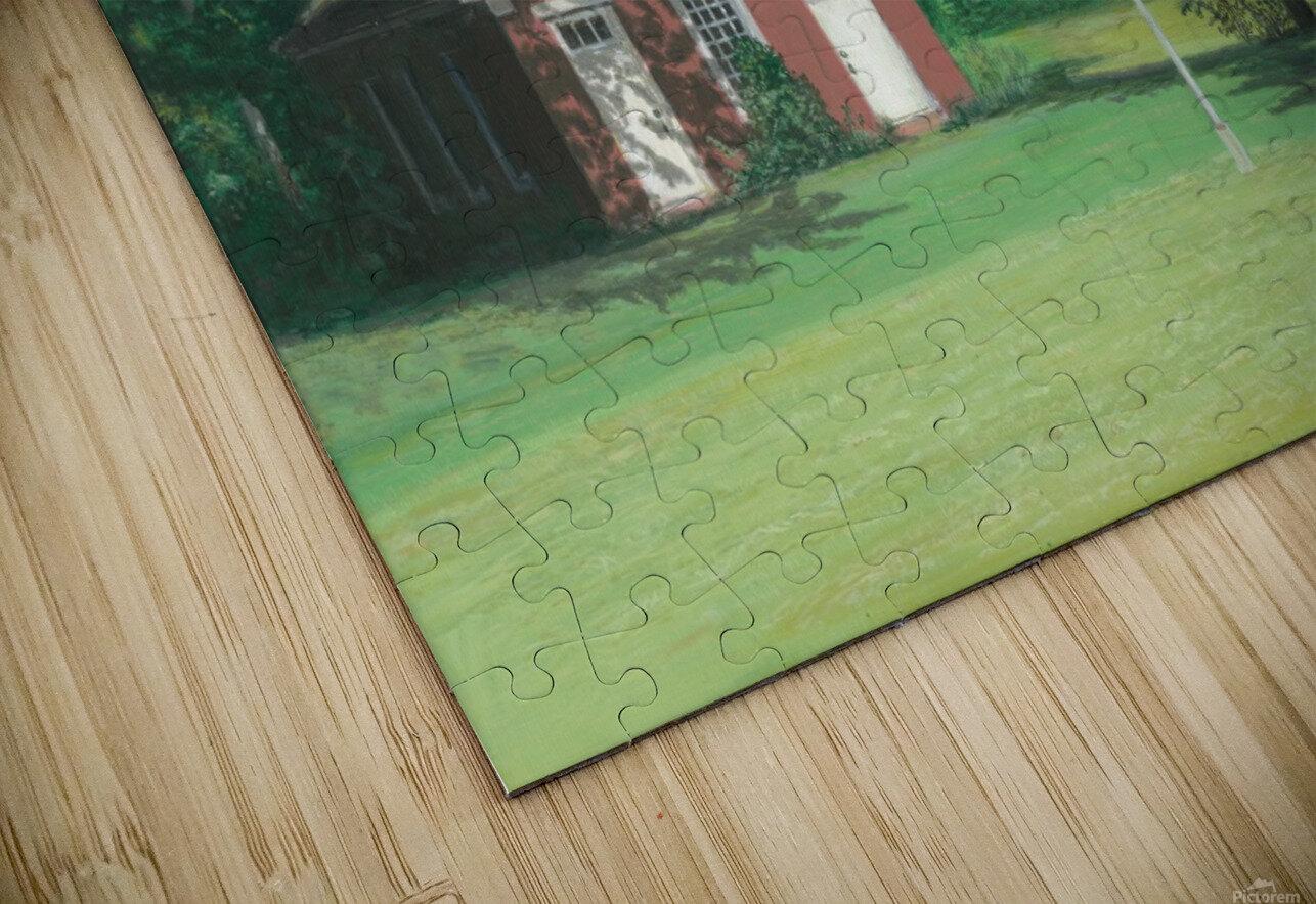Lands End School - Newtown Scenes 18 X24  HD Sublimation Metal print