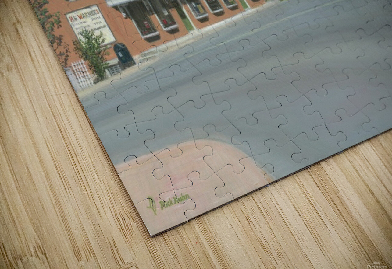 The Brick Store - Newtown Scenes 18 X 26  HD Sublimation Metal print