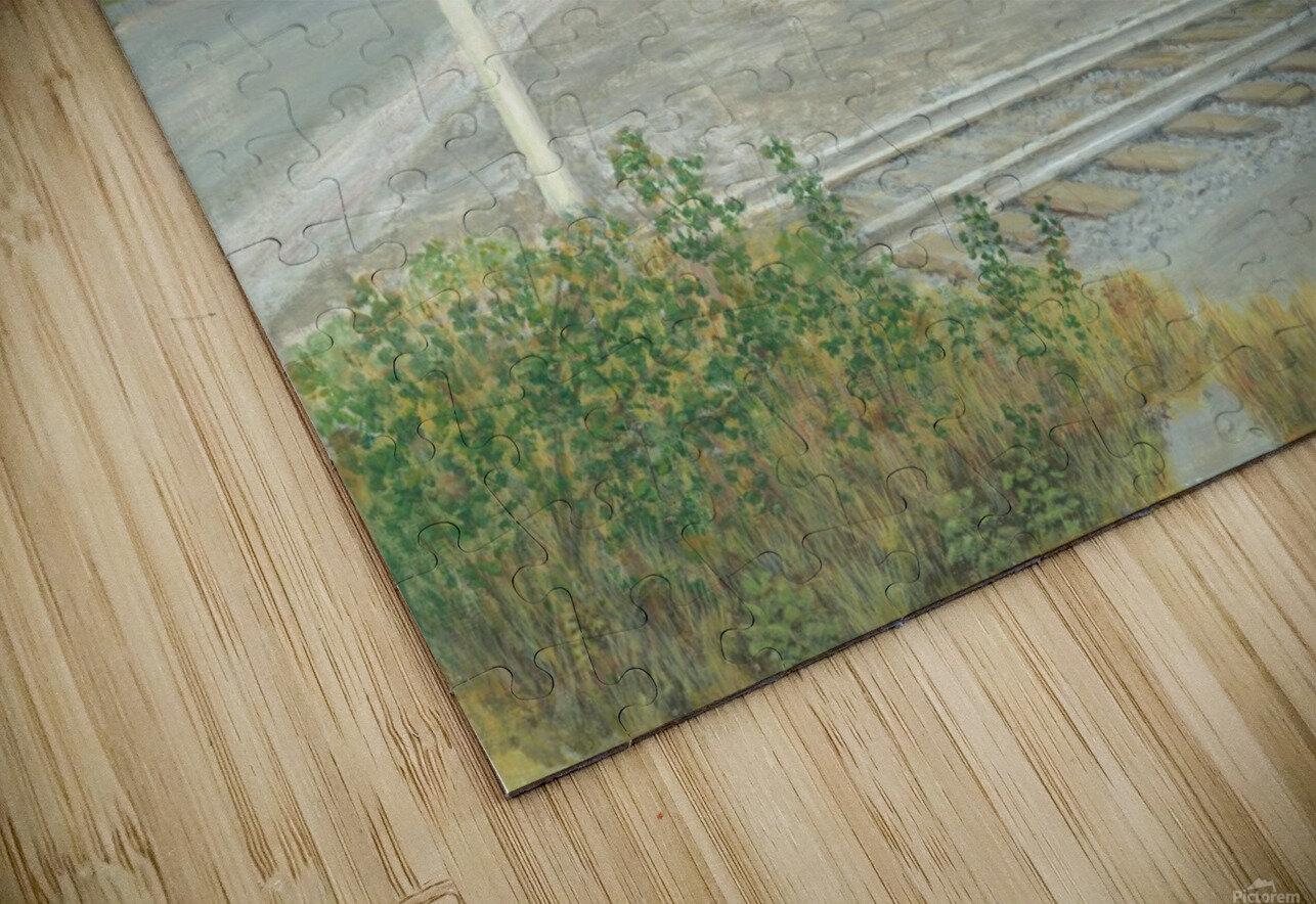 Hawleyville Scene - Newtown Scenes 16X20 HD Sublimation Metal print