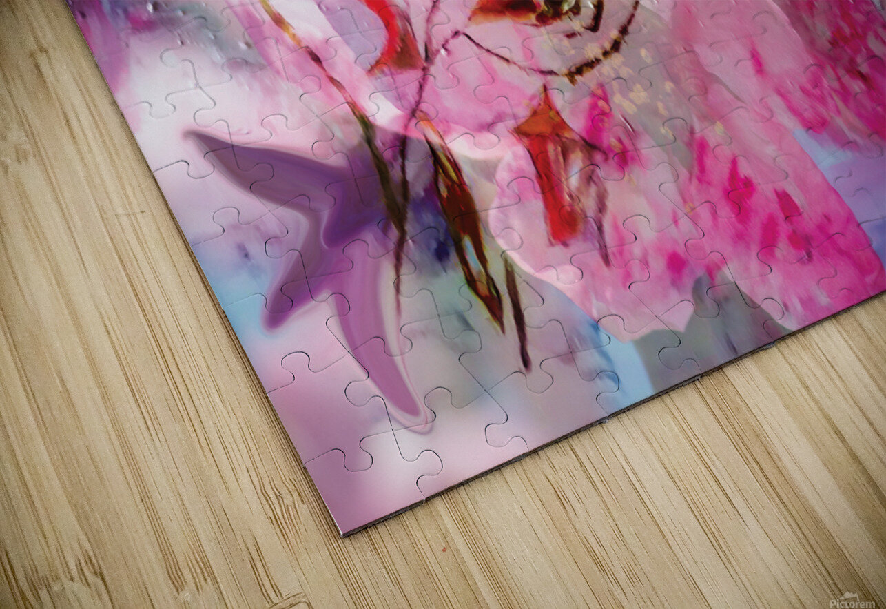 floral creation abstraction HD Sublimation Metal print