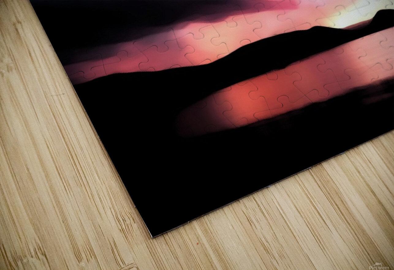 Last Light  HD Sublimation Metal print