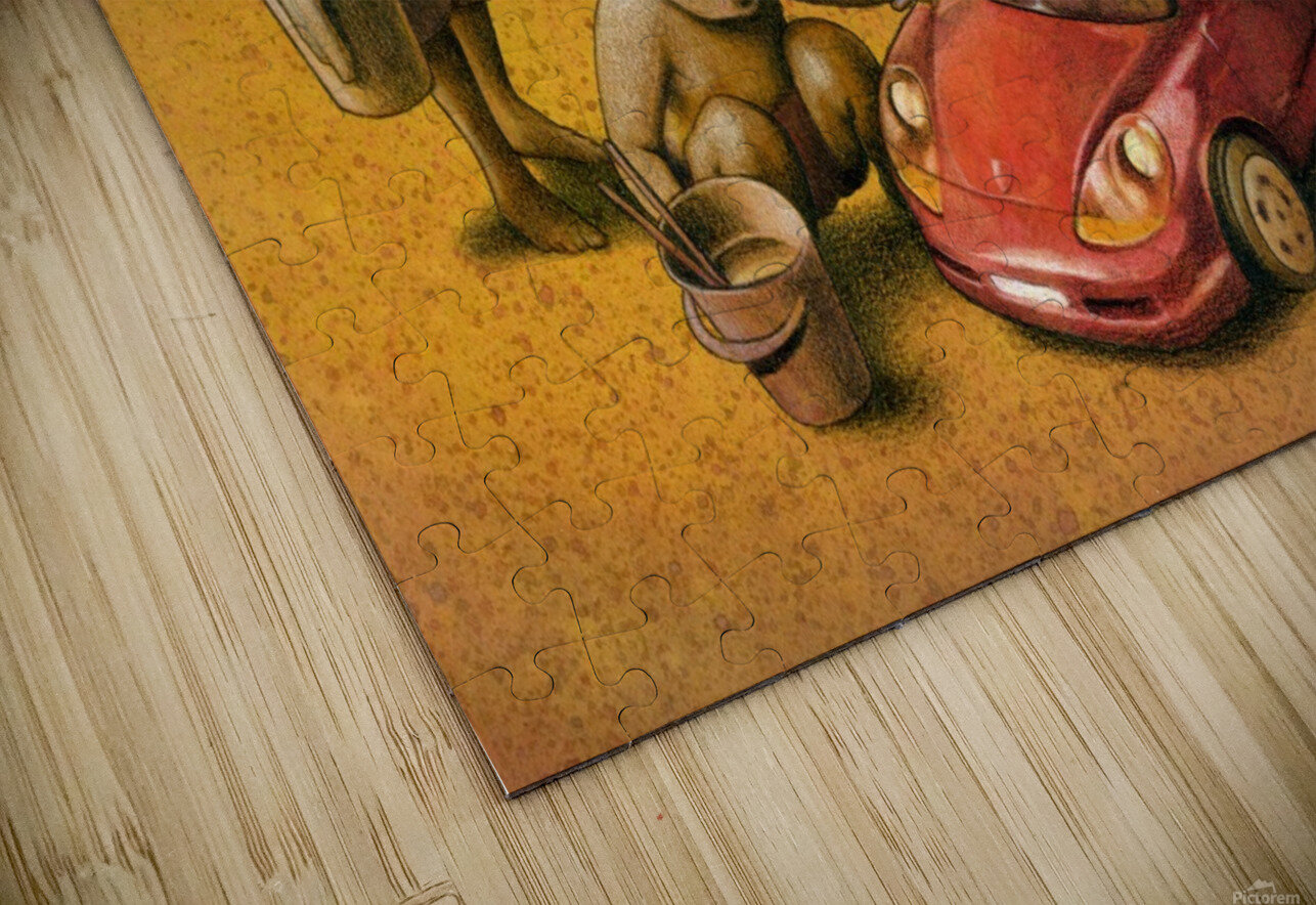 PawelKuczynski35 HD Sublimation Metal print